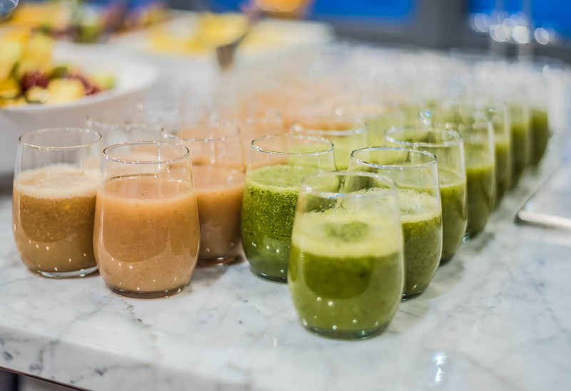 Fruit Smoothies With Ice