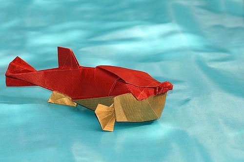 Origami Fugu (Takuro Kashiwamura)