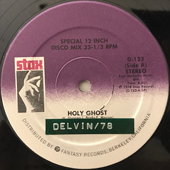 THE BAR-KAYS:HOLY GHOST(LABEL SIDE-A)