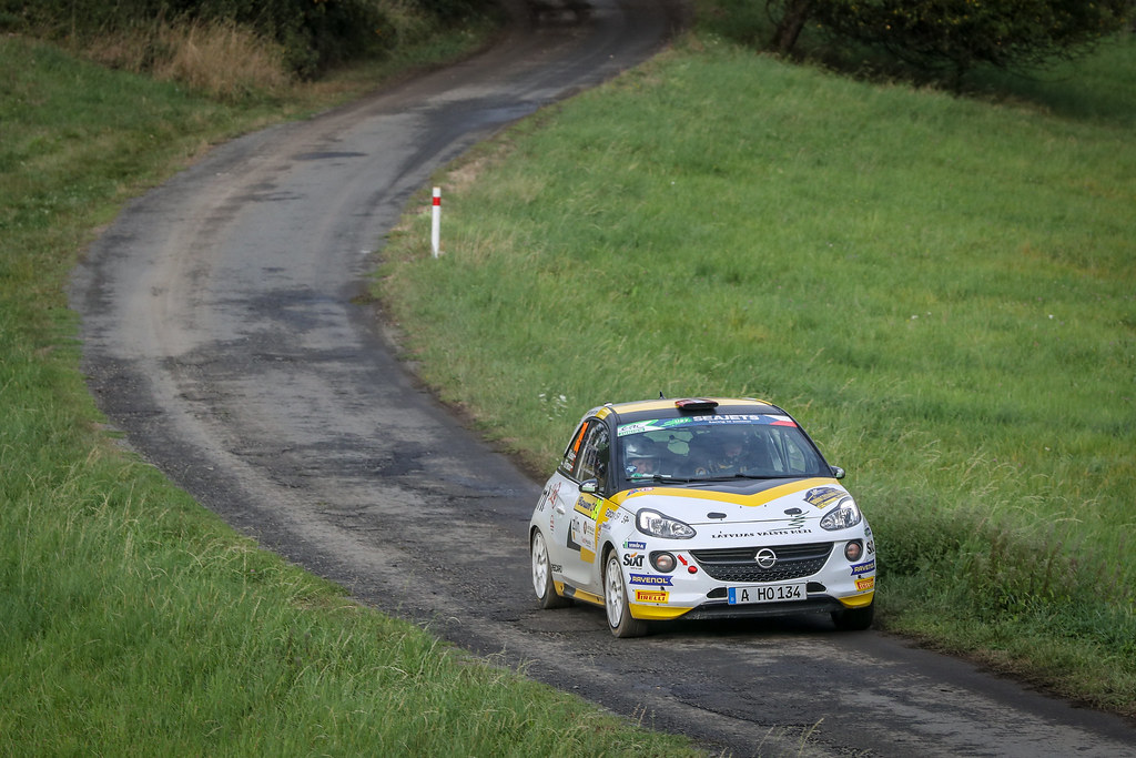during the 2018 European Rally Championship ERC Barum rally,  from August 24 to 26, at Zlin, Czech Republic - Photo Alexandre Guillaumot / DPPI