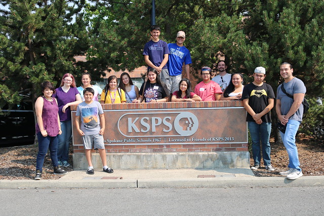 2018 NYMW visits KSPS in Spokane