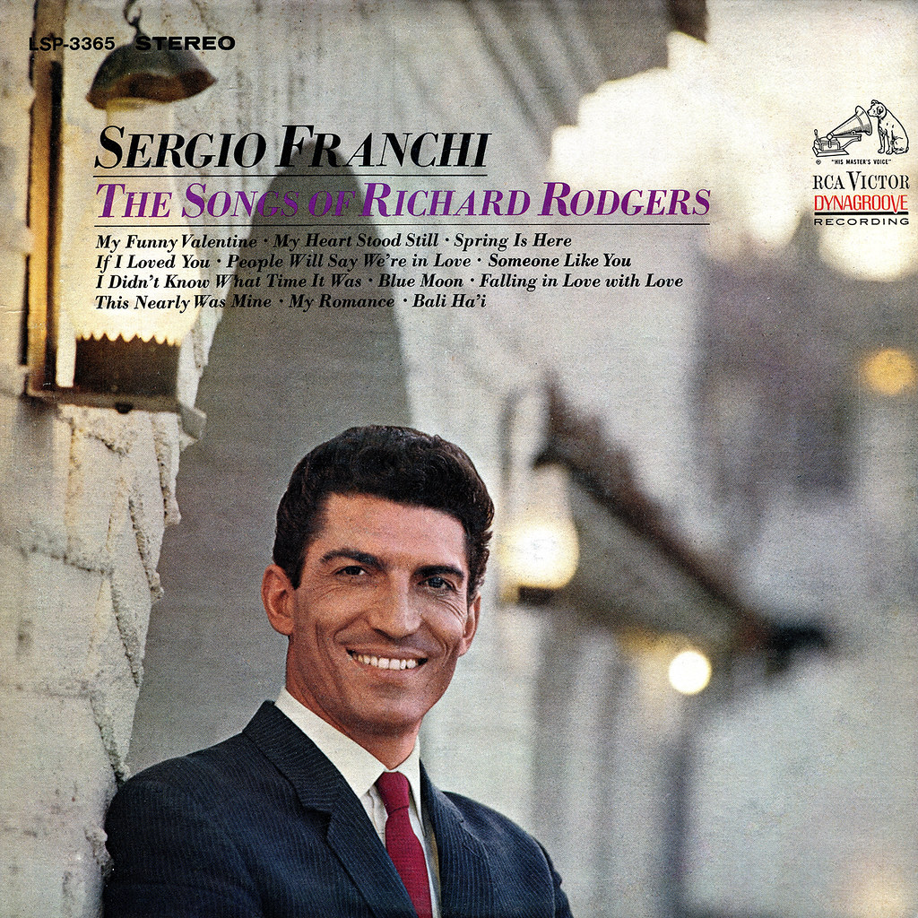 Sergio Franchi - The Songs of Richard Rodgers