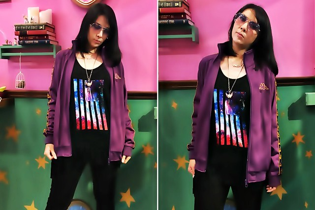 Rosegal Galaxy Print Vest