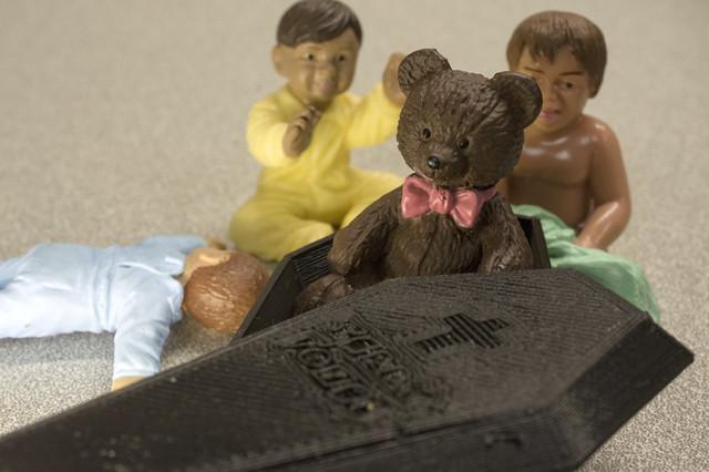 Look - it's a Deady Bear!!