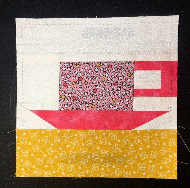 Teacup QAL Block 1 Finished