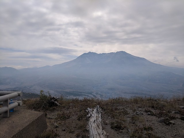 Solo Mt. St. Helens Ride: Pretty Smoky