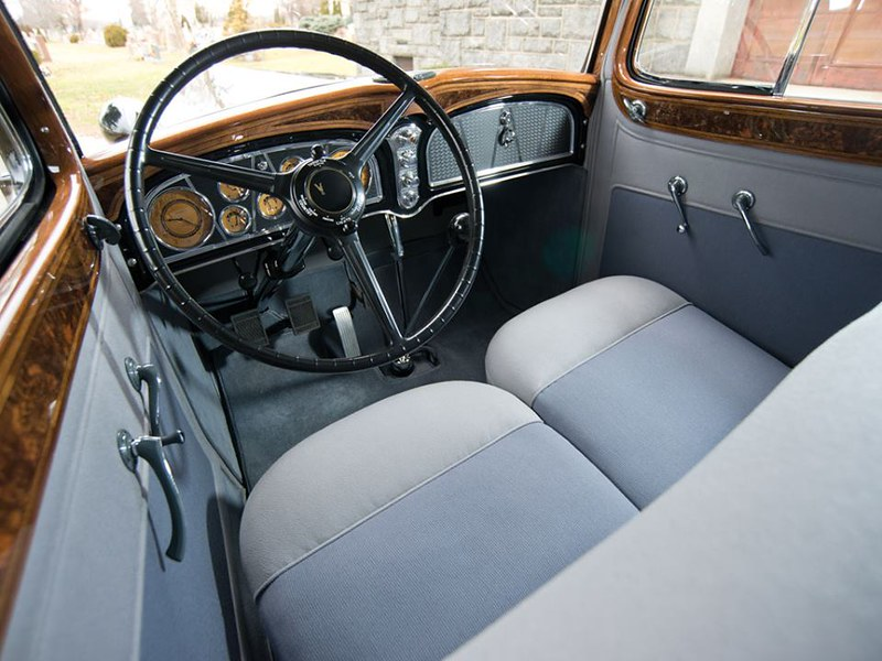 1933 Cadillac V-16 Seven-Passenger Sedan by Fleetwood