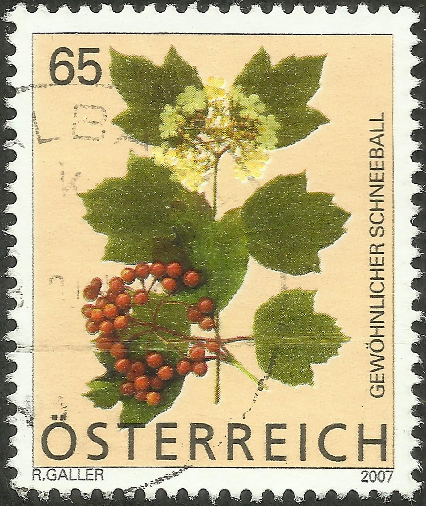Austria - Scott #2098 (2007)
