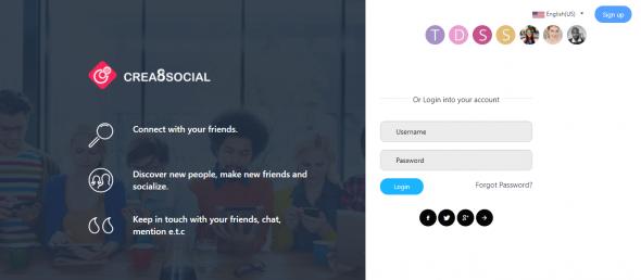 Crea8social Pro v7.1 – PHP Social Networking Platform