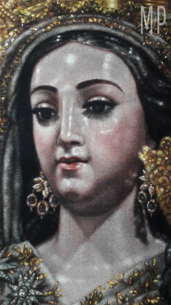 Virgen mercedaria de mairena del aljarafe manuel pe a pintor - Obra nueva mairena del aljarafe ...