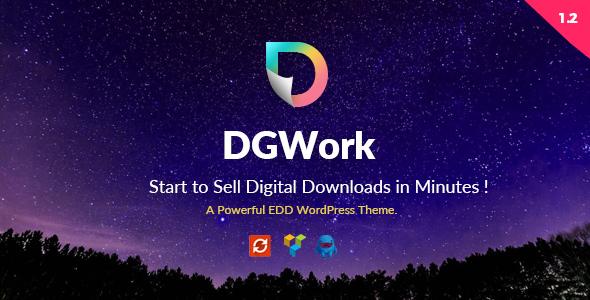 DGWork v1.3.4 – Business Theme For Easy Digital Downloads