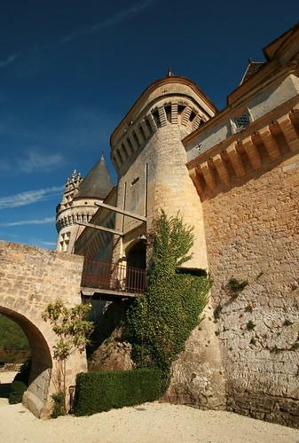 Douves du château de Bannes