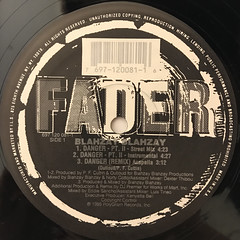 BLAHZAY BLAHZAY:DANGER PT. II(LABEL SIDE-A)