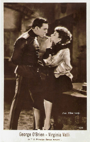 George O Brien and Virginia Valli in Paid to Love (1927)