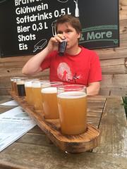 1 meter beer