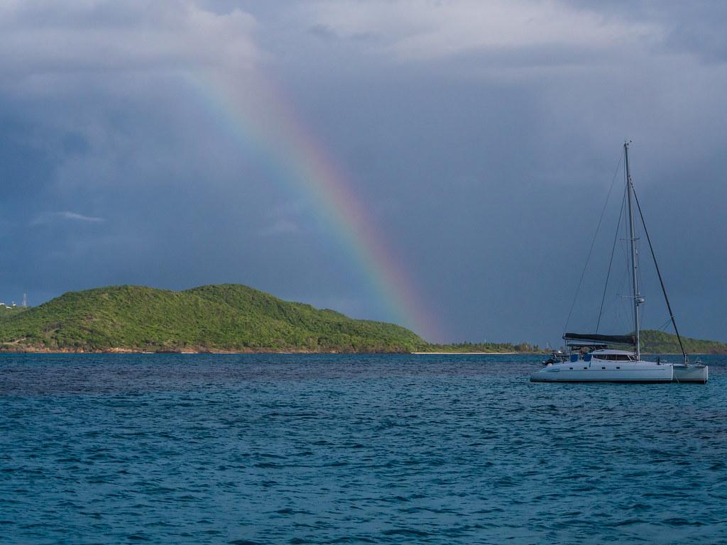 Rainbow over the Cays... 44134768462_bbcc0bf7e3_b