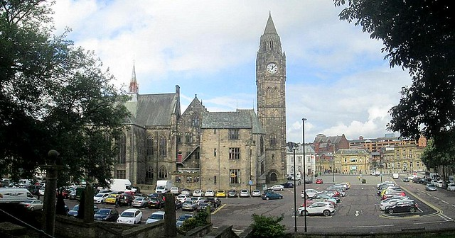 Rochdale Town Hall and Square stitch