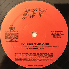 SWV:YOU'RE THE ONE(LABEL SIDE-B)