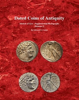 Dated Coins of Antiquity Shekels of Tyre supplement cover