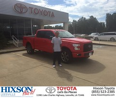 #HappyBirthday to Yifan from Justin Brown at Hixson Toyota of Leesville!