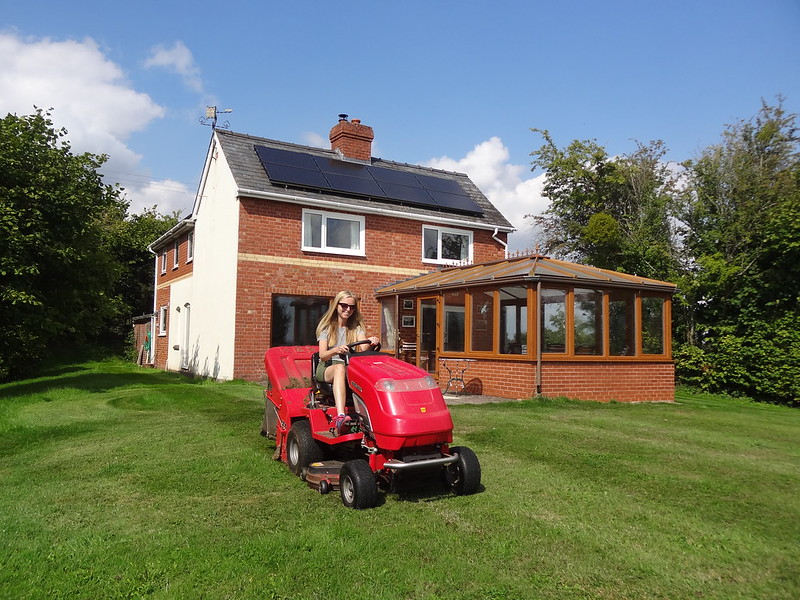 Me and my mower