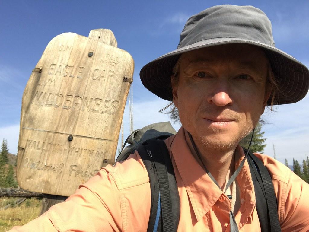 Leaving Eagle Cap wilderness