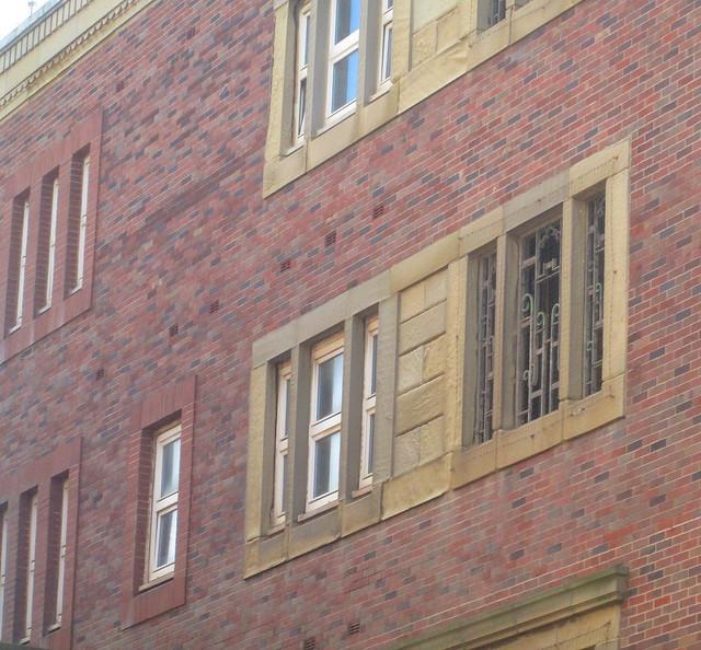 Art Deco Window Detailing, Blackpool