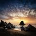 Adraga Beach Sintra Portugal by www.antoniogaudenciophoto.com