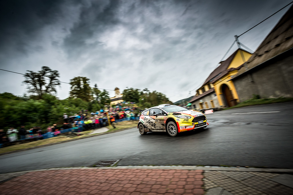 3à  during the 2018 European Rally Championship ERC Barum rally,  from August 24 to 26, at Zlin, Czech Republic - Photo Thomas Fenetre / DPPI