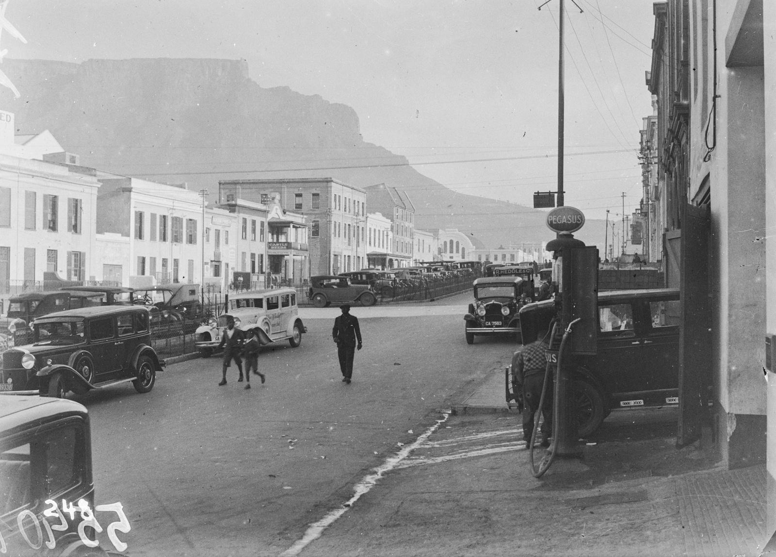 Южно-Африканский Союз. Порт-Элизабет. Улица в Порт-Элизабет