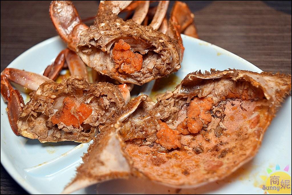 水貨螃蟹烤魚10