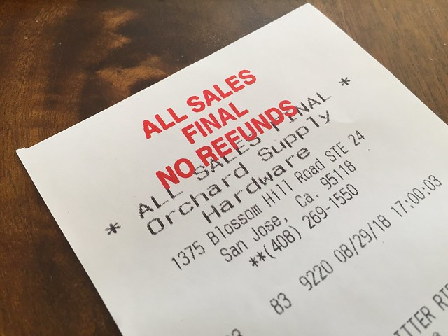 All Sales Final - No Refunds