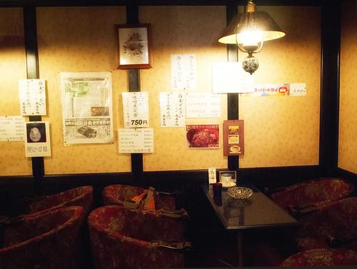 金沢・珈琲館禁煙室_奥の部屋