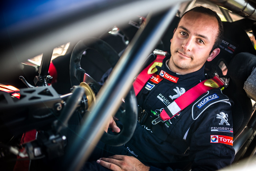 PELLIER Laurent (FRA), COMBE Geoffrey (FRA), PEUGEOT RALLY ACADEMY, Peugeot 208 T16, portrait during the 2018 European Rally Championship Rally Poland at Mikolajki from September 21 to 23 - Photo Thomas Fenetre / DPPI