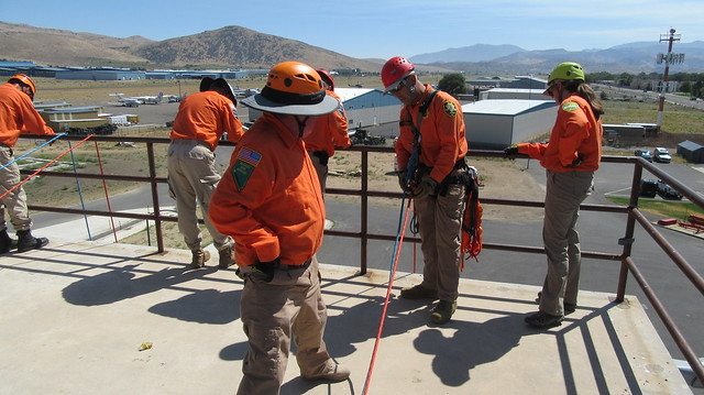 High Angle Ropes Training