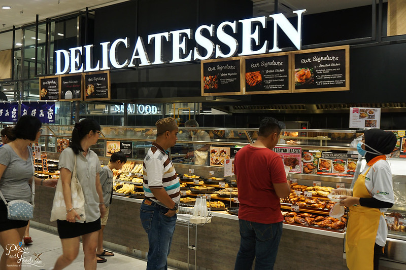 aeon tebrau city delicatessen section