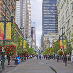 Stephen Avenue Walk, DownTown, Calgary