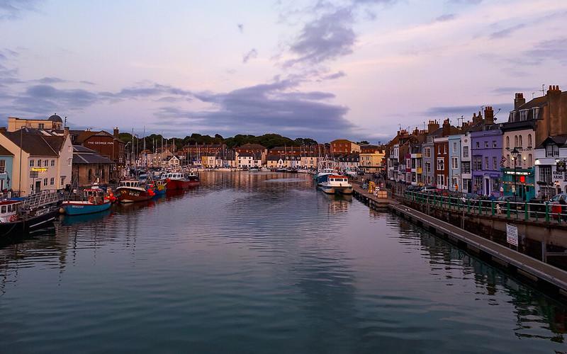 Jurassic Coast walk - Weymouth Harbour