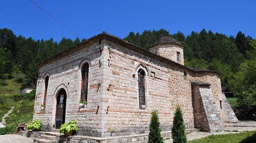 albanie 2018 manastiriishenprodhromit moscopole eglise