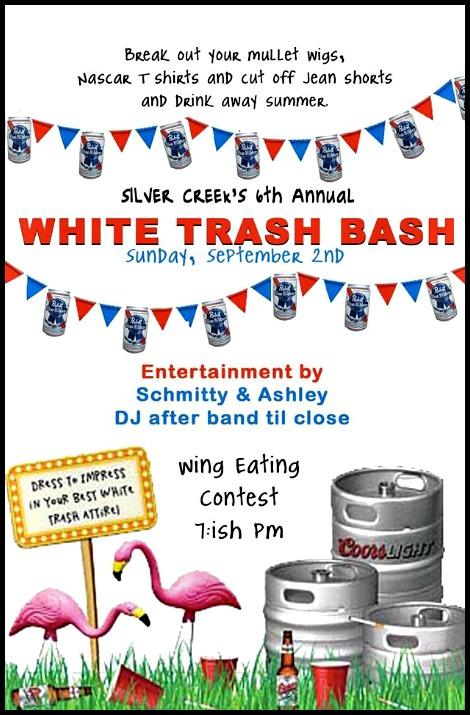White Trash Bash 9-2-18