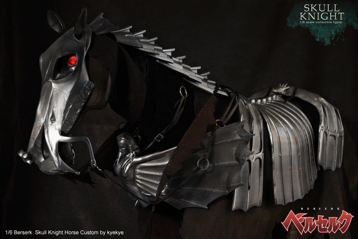 1/6 scale horse armor custom for Skull knight from [Berserk] 42676716480_9667f35428_o