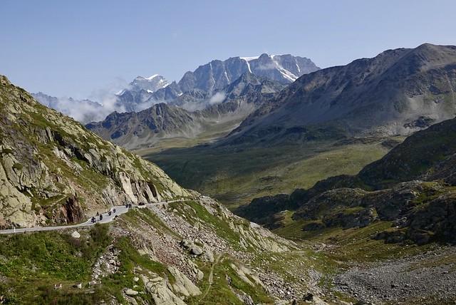 Looking north into Switzerland