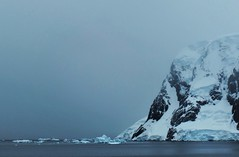 The coast of the Antarctic Peninsula.