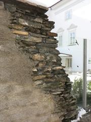 A wall in Klagenfurt
