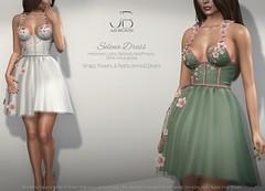 NEW! Selena Dress - at the Just BECAUSE Mainstore!