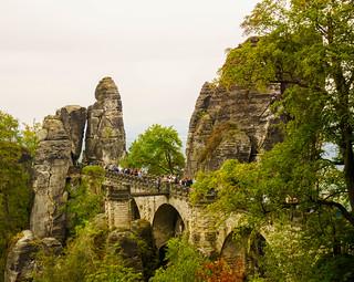 Basteibrücke Sächsische Schweiz 1