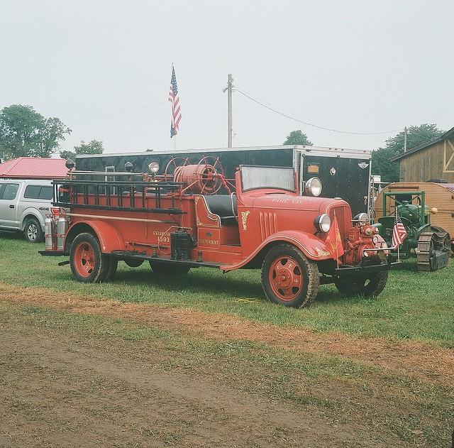 Sinclairville Chevrolet Fire Engine