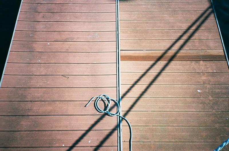 Jetties, ropes