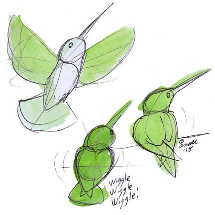8.2.18 - Hummingbirds!
