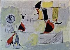 Garden of wish fulfilment (1944) - Arshile Gorki (1904-1948)